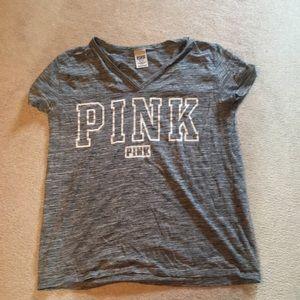Victoria's Secret Pink grey top size M